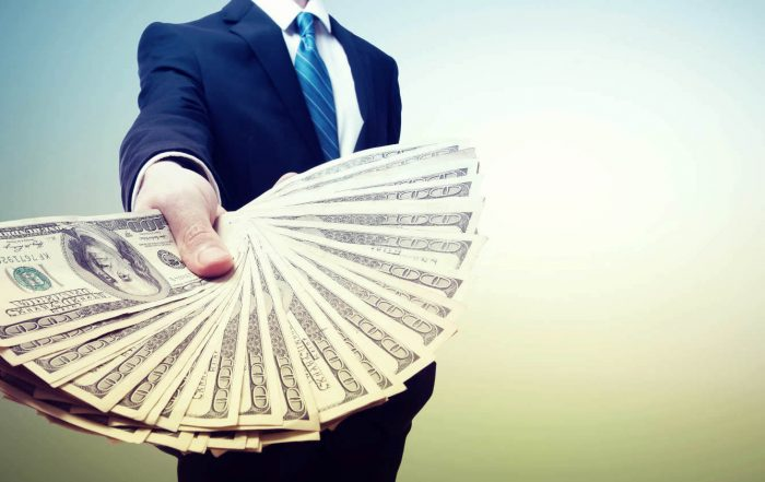 BMDG Final Expense Insurance Saving Money Businessman